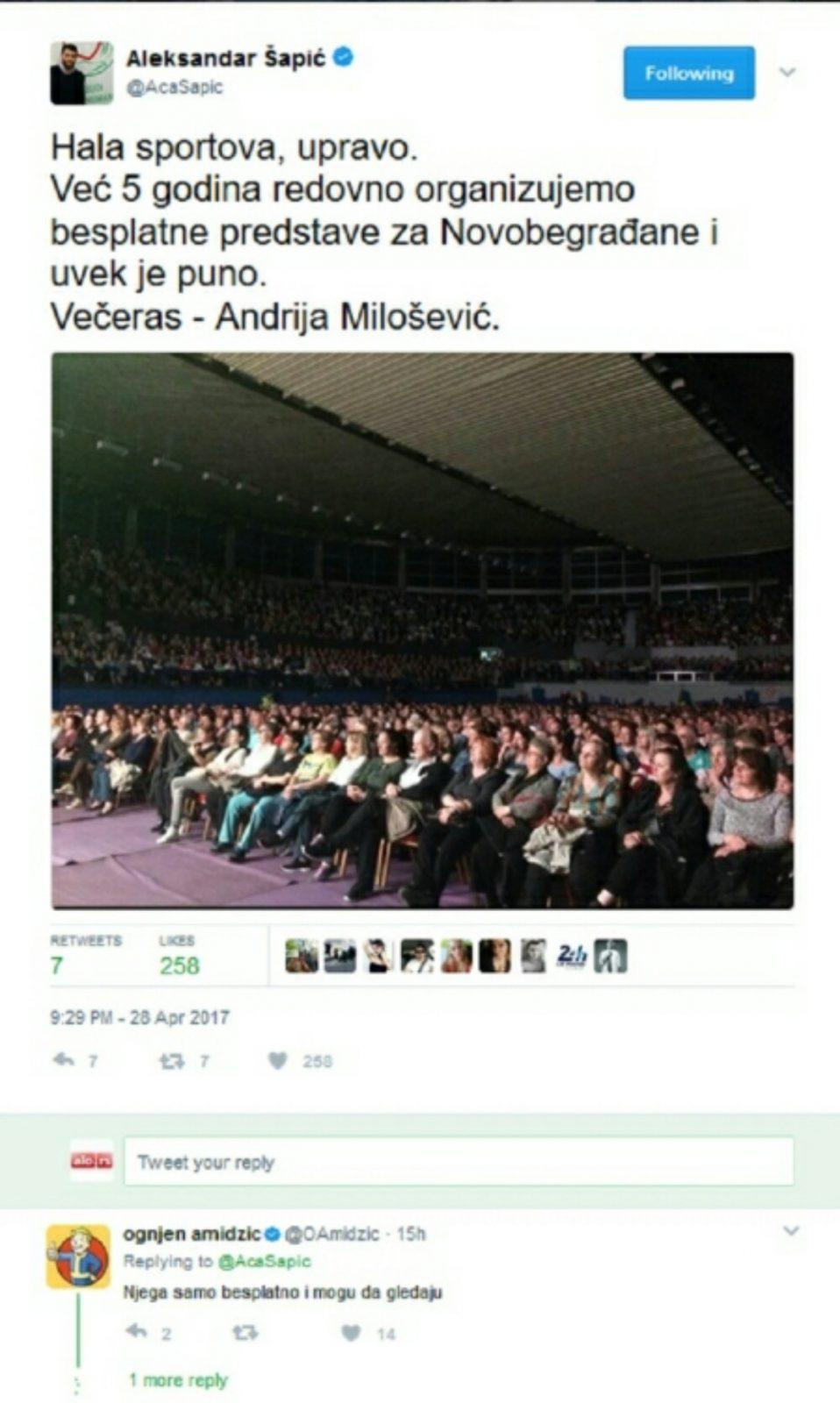 Amidžić brutalno isprozivao Andriju Miloševića!