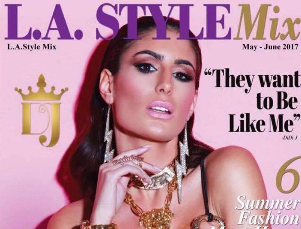 Prva srpska pevačica na naslovnici prestižnog američkog časopisa!