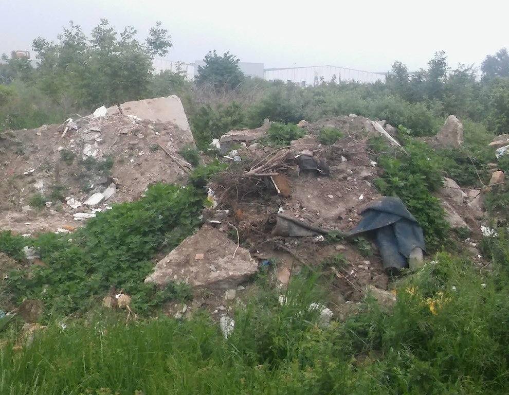 Čišćenje divlje deponije u Primorskoj ulici