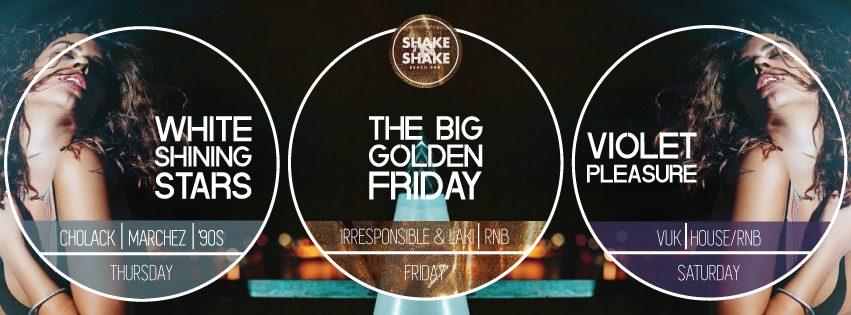 Spektakularne žurke ovog vikenda na splavu Shake'n'Shake