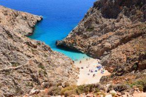 Do ove egzotične Kritske plaže je teško doći (VIDEO)