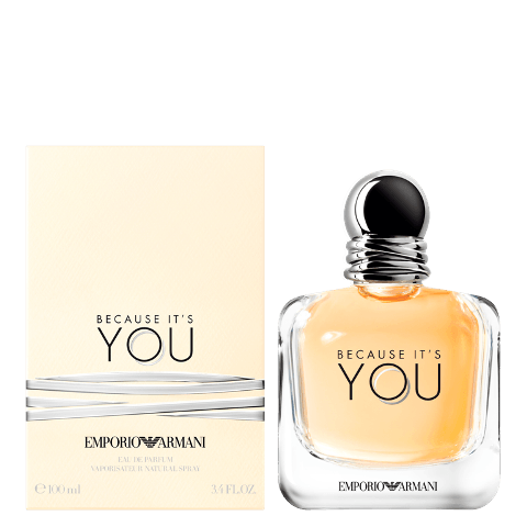 Emporio Armani novo lansiranje - Because It's You - Stronger With You