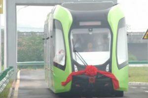 Kinezi napravili voz koji ide po virtuelnim šinama