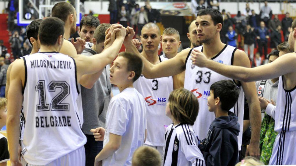 Poraz Partizana od Olimpije