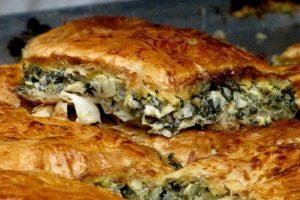 Recept dana: Pita sa prazilukom i pečurkama