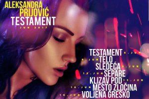 Ovo su tekstovi 4 nove pesme Aleksandre Prijović!