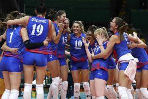 Odbojkašice Srbije pobedile Tajland