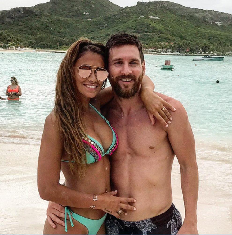 Messi na medenom mesecu sa suprugom i prijateljem