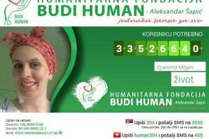 Pronađen donor: Do transplantacije Miljanu deli još 95 hiljada evra!