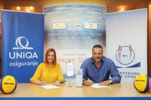 UNIQA ponovo uz Vaterpolo savez Srbije