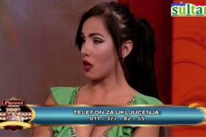 Aleksandra Subotić iznervirala vodeteljku emisije a zatim tražila novac Dalili i Dejanu!