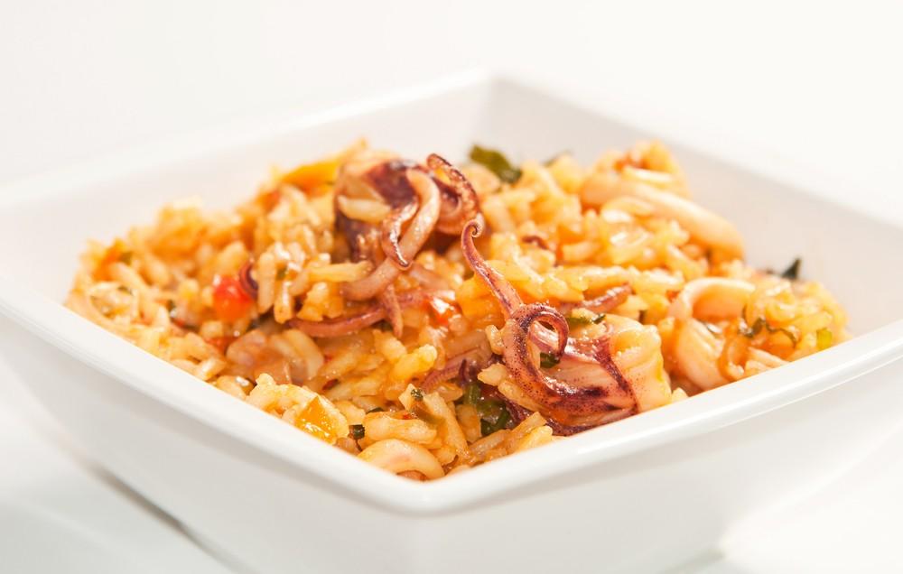 Predlog za ručak: Rižoto sa lignjama