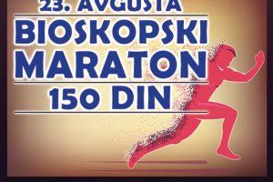 """""""Bioskopski maraton"""" po ceni ulaznice od samo 150 dinara u sredu 23. avgusta u bioskopima Roda Cineplex, Arena Cineplex i Mobil 3D bioskopima"""