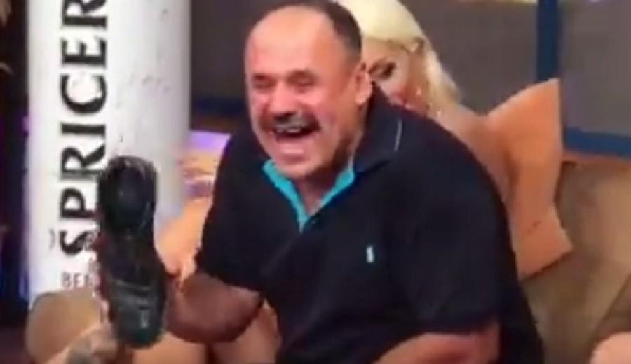 Skandal u emisiji: Zmaj uništio cipele Milomira Marića! (Video)