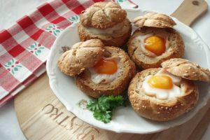 Kajzerice punjene jajima