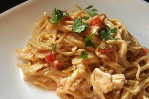 Recept dana: Špagete sa pilećim belim mesom