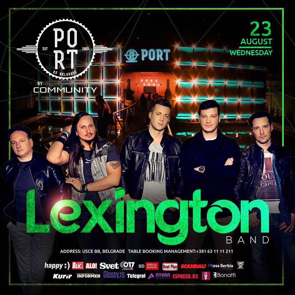Nastup koji se čeka- Lexington bend sutra na beogradskom splavu!