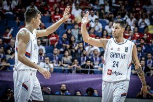 Srbija pobedom završila grupnu fazu