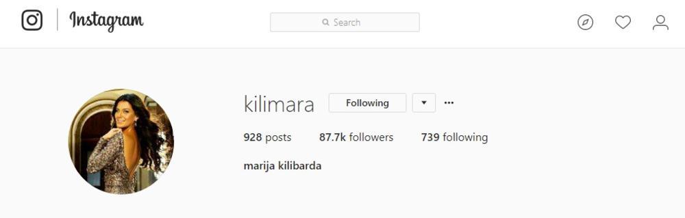 Marija Kilibarda vratila devojačko prezime!