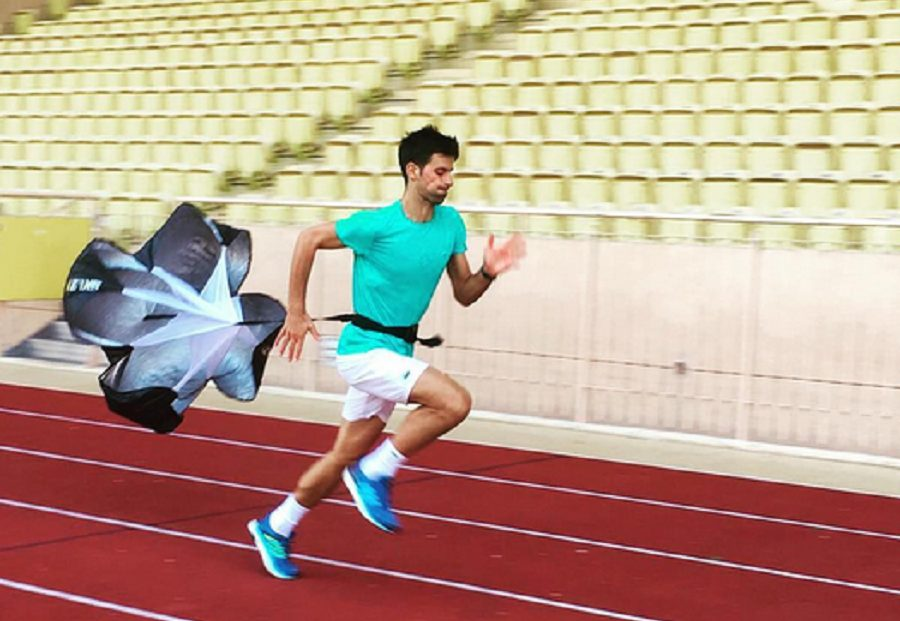 "Novak se vraca na teren: ""Toliko sam brz da mi je potreban padobran..."""