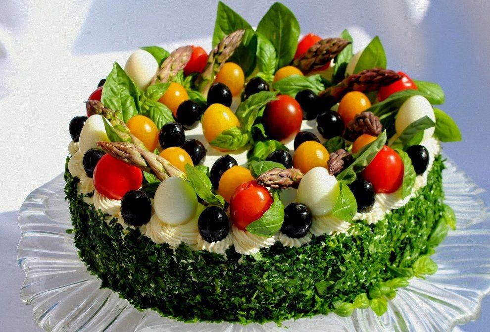 Slana torta: Šunka torta s povrćem