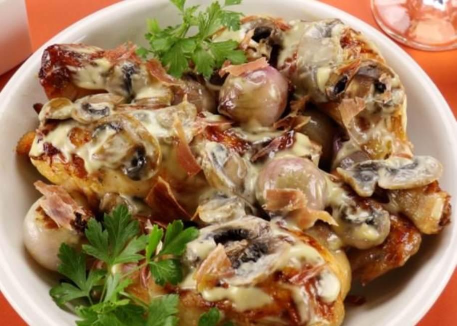 Predlog za ručak: Belo meso s pršutom