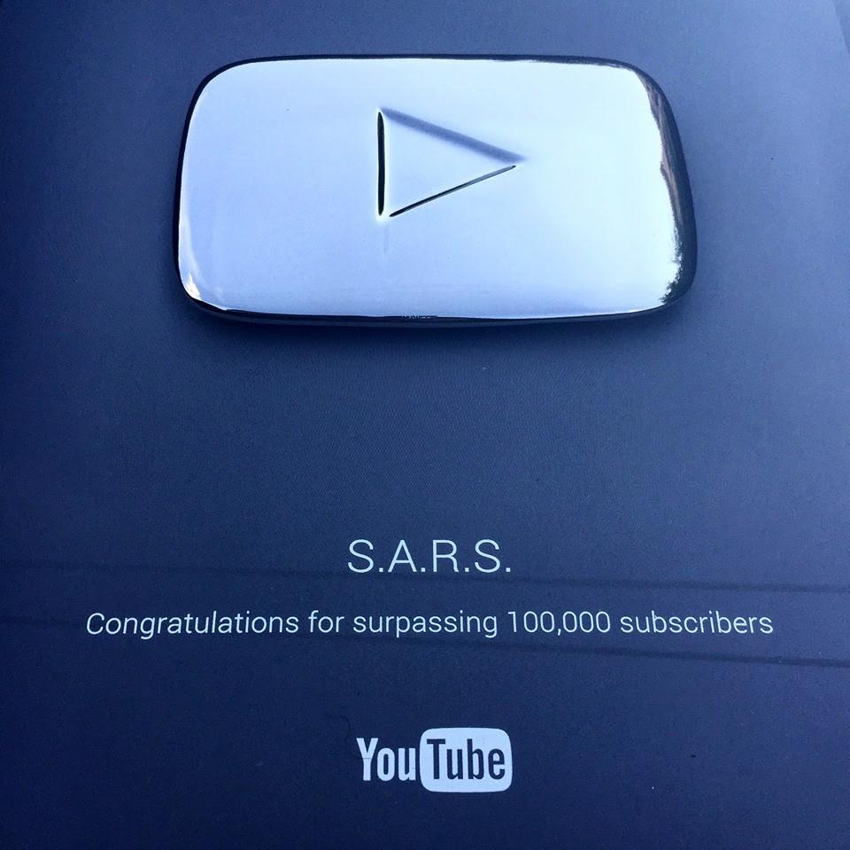 S.A.R.S. dobio Youtube priznanje