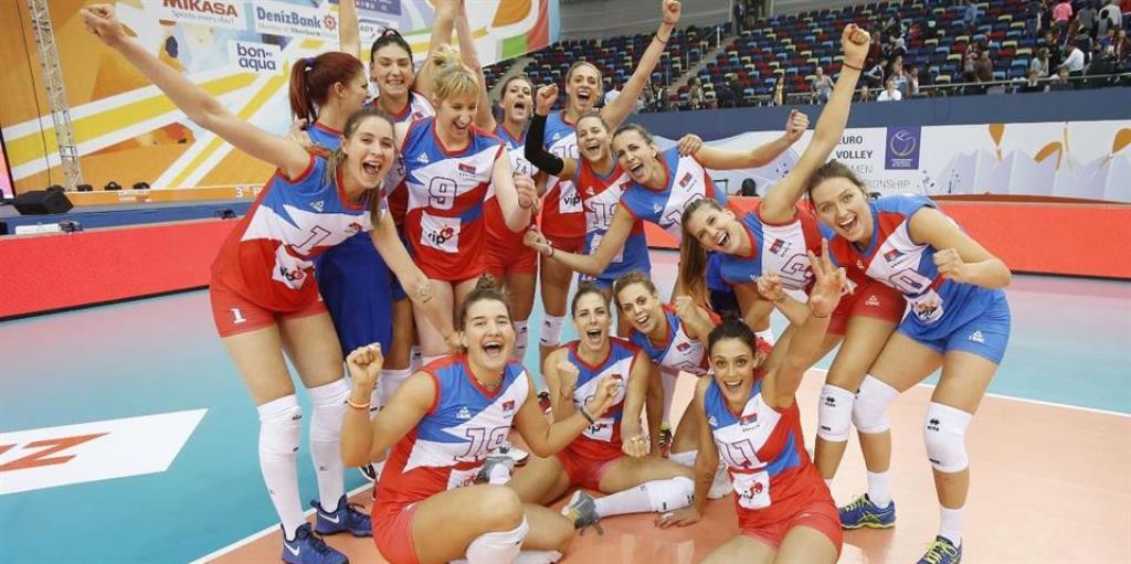 Odbojkašice Srbije osvojile Evropsko prvenstvo!