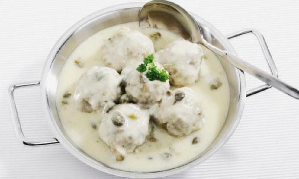 Predlog za ručak: Ćufte u belom sosu