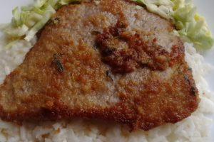 Predlog za ručak: Svinjska šnicla s pirinčem