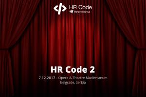 Sedam dana do HR konferencije u IT industriji - HR CODE