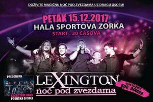 NOĆ POD ZVEZDAMA: Lexington bend sprema iznenađenje za šabačku publiku!