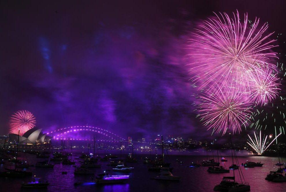 Sidnej dočeo Novu godinu vatrometom za pamćenje! (VIDEO)