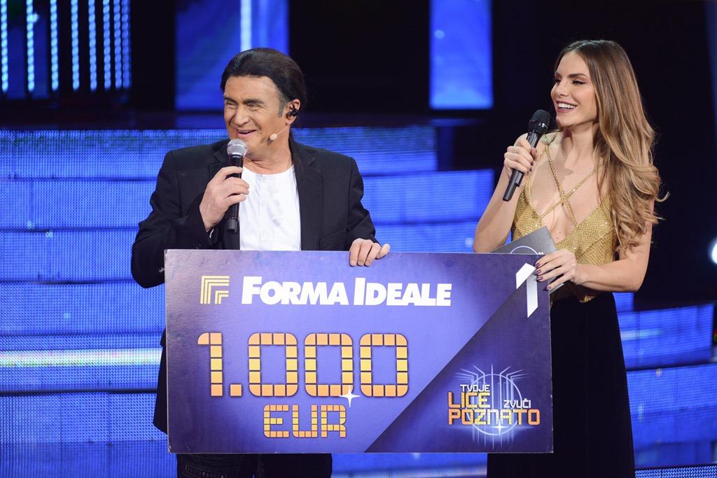 Branislav Lečić pobednik desete epizode šoua Tvoje lice zvuči poznato