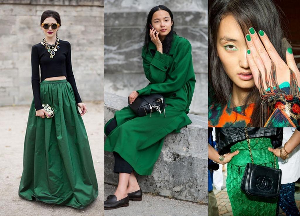Smaragdno zelena je ponovo boja sezone, a ovo su njeni najbolji komadi