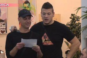 Sloba i Milan napisali pesmu o zadrugarima i nasmejali ih a Veliki šef ih nagradio!