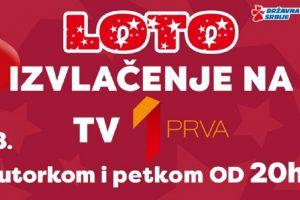 Od petka 2. februara LOTO ponovo na Prvoj televiziji!