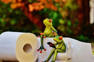 Ko drži spušten, a ko podignut poklopac na WC šolji?