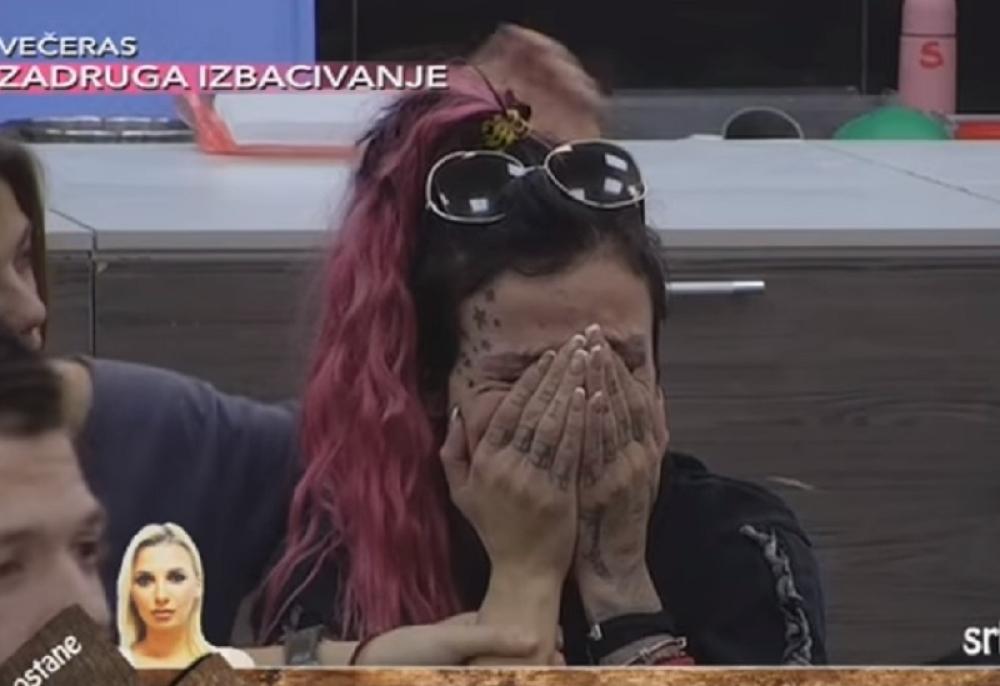 Jelena Krunić u SUZAMA! (VIDEO)