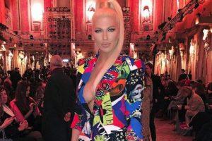 Karleuša u prvom redu Versace revije u Milanu