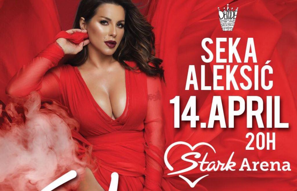 Ovoga puta ne slavi samo Seka! PRess Serbia te vodi na njen koncert 14. aprila u Štark Areni