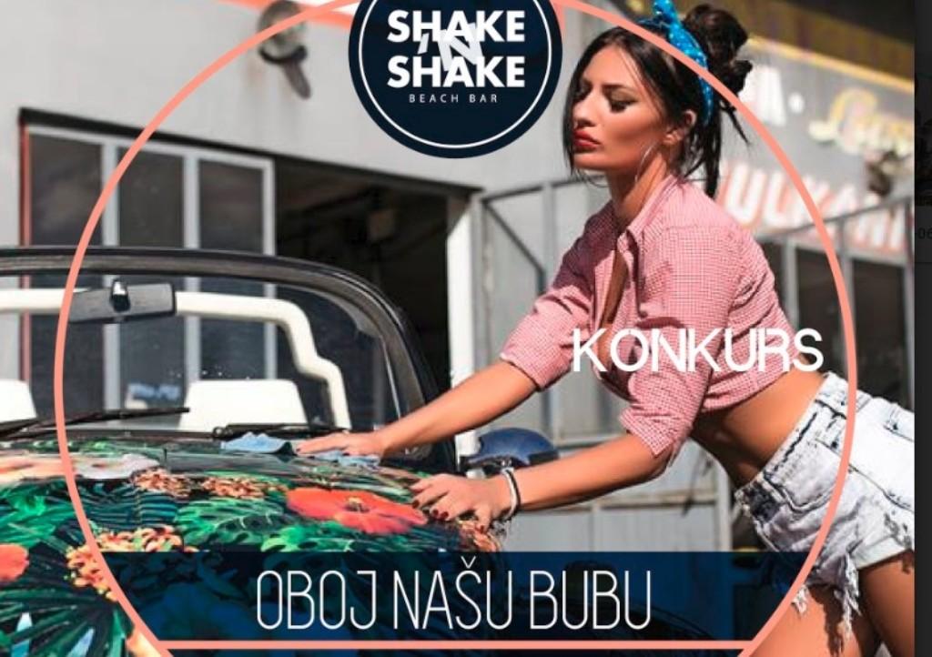 Splav Shake'n'Shake organizovao konkurs ''OBOJ NAŠU BUBU - Ostavi traga na ulicama Beograda!''