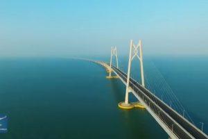 Ovo je najduži most preko mora, dug čak 55km! (VIDEO)