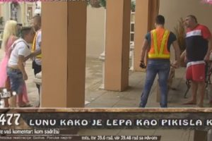 """Haos u """"Zadruzi"""", obezbeđenje odmah uletelo! (VIDEO)"""