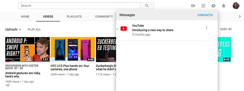 YouTube donosi opciju za razmenjivanje poruka