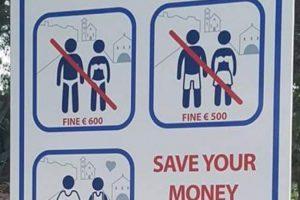 OPREZ! Nepoznavanje lokalnih propisa ne oslobađa turiste od odgovornosti za prekršaj!
