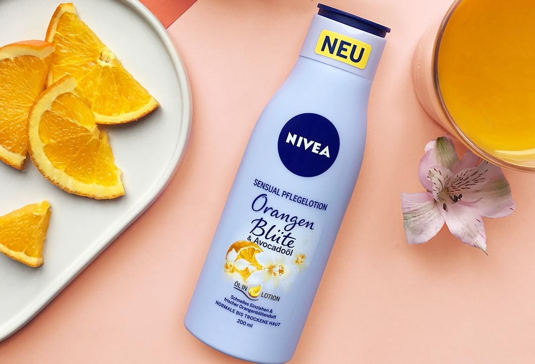 NOVO: NIVEA losion za telo bogat uljemsa mirisom pomorandžinog cveta i uljem avokada