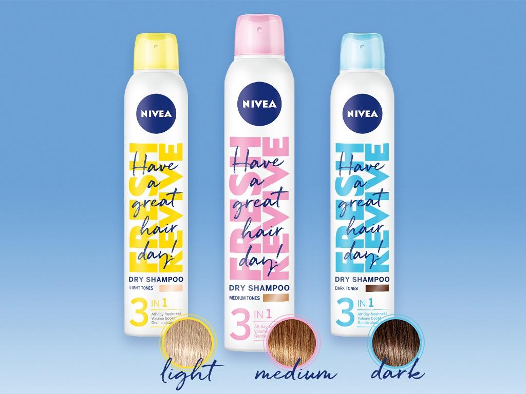 Predivna kosa bez pranja – novi NIVEA Fresh Revive šamponi za suvo pranje kose
