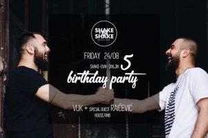 Shake'N'Shake slavi peti rođendan!