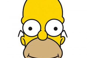 Da je stvarna osoba, Homer Simpson bi izgledao ovako